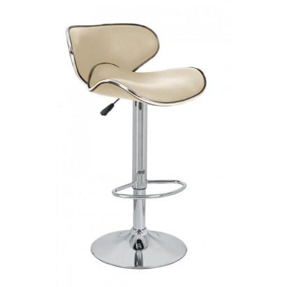 Барный стул Сатурн бежевый