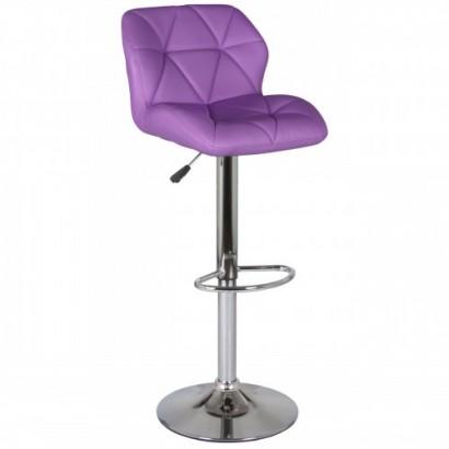 Барный стул Алмаз WX-2582 фиолетовый