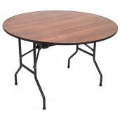 Складной банкетный стол d120 см