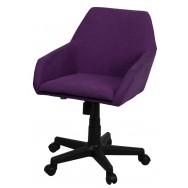Кресло Тук-лифт микрофибра фиолетовая