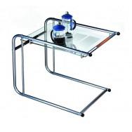 Придиванный сервировочный столик С-8 металлик