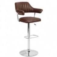 Барный стул Касл коричневый