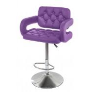 Барный стул Тиесто WX-2927 фиолетовый