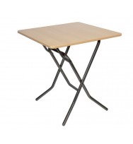 Складной квадратный стол 70х70 см